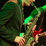 PHIL live in der Kesselhalle mit Saxophonist Marco Vincenzi